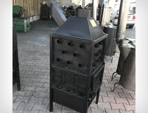 Siyah Eko T1 Küçük Boy Fanlı Soba