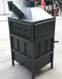 Siyah Renkli T3 Standart Boy Fanlı Soba